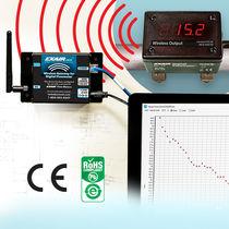 Débitmètre pour air comprimé / sans fil / avec affichage digital / numérique