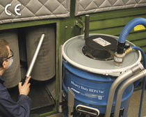 Aspirateur à poussière / air comprimé / pour salle blanche / mobile