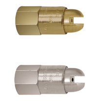 Buse à cône plein / à air / avec amplification de débit / de sortie