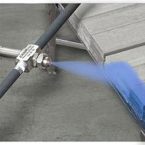 Buse de pulvérisation / plate / à air comprimé / à très fine nébulisation