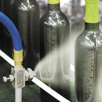Buse de pulvérisation / à jet plat / à air comprimé / en acier inoxydable