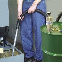Pompe pour eaux usées / pneumatique / semi-immergée / vide-fût
