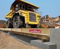 Pont bascule pour camion