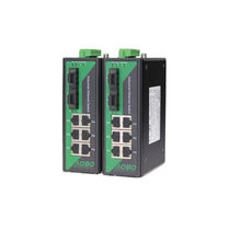 Commutateur Ethernet administrable / 9 ports / sur rail DIN / d'extérieur