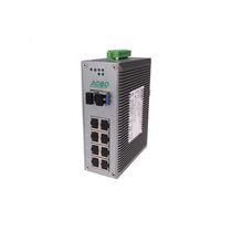 Commutateur Ethernet non administrable / 12 ports / Gigabit Ethernet / sur rail DIN