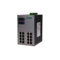 Commutateur Ethernet non administrable / 28 ports / Gigabit Ethernet / sur rail DIN