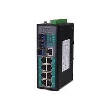 Commutateur Ethernet administrable / 10/100BaseT(X) / Gigabit Ethernet / à montage sur rail DIN