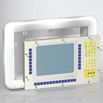 Boîtier pour montage sur panneau / modulaire / en tôle d'acier / de commande
