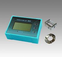 Inclinomètre mono-axe / numérique / haute précision / avec afficheur LCD