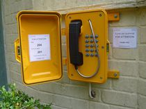Téléphone VoIP / IP67 / pour applications ferroviaires / pour applications marines