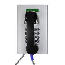 Téléphone GSM / VoIP / IP66 / pour banque