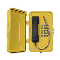 Téléphone analogique / IP67 / pour applications ferroviaires / pour tunnel