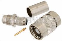 Connecteur RF / coaxial / SMP / rectangulaire