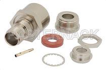 Connecteur RF / TNC / coaxial / rectangulaire