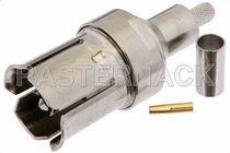 Connecteur RF / coaxial / rectangulaire / à sertir