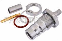 Connecteur RF / coaxial / cylindrique / femelle