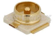 Connecteur de carte électronique / coaxial / MCX / circulaire