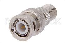 Adaptateur de communication / pour câble coaxial / fileté
