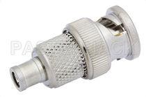 Adaptateur de communication / pour câble coaxial / SMB