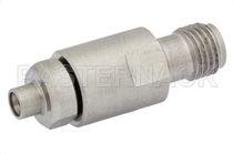 Adaptateur de communication / pour câble coaxial / SMP