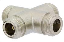 Adaptateur de communication / pour câble coaxial / N