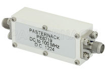 Filtre électronique passe-bas / passif / RF