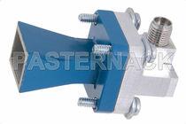 Antenne à cornet / avec adaptateur / pour guide d'ondes