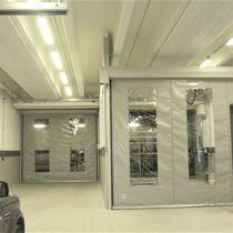 Portes autoréparables / à enroulement / en tissu / pour l'intérieur