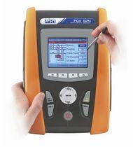 Analyseur pour réseau électrique / de qualité d'énergie / portable / avec enregistreur de données