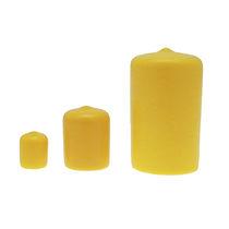 Embout recouvrant non fileté / rond / en PVC / de protection