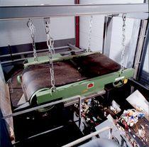 Séparateur magnétique permanent / de métaux / pour traitement des eaux usées / suspendu