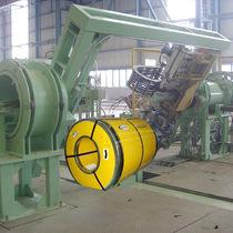 Cercleuse automatique / pour bobine / pour ligne de production / pour planche
