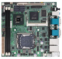 Carte mère mini-ITX / Intel® Core 2 Quad / Intel Q45 / DDR2 SDRAM