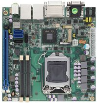 Carte mère mini-ITX / Intel® Core™ i series / Intel Q77 / DDR3 SDRAM