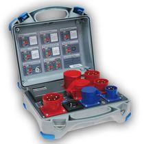 Testeur de courant résiduel / de courant de fuite / pour appareils électriques / pour unité de soudage