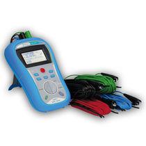 Testeur de courant de fuite / de résistance de terre / d'installation / numérique