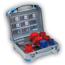 Testeur de courant résiduel / de courant de fuite / pour appareils électriques / multifonction
