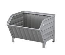 Contenant en acier galvanisé / de stockage / gerbable
