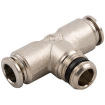 Raccord push-in / en T / pour air comprimé / hydraulique