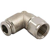 Raccord push-in / coudé / pour air comprimé / hydraulique
