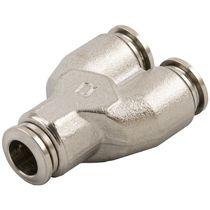 Raccord push-in / en Y / pour air comprimé / hydraulique