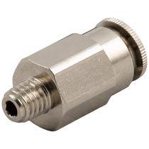 Raccord push-in / droit / pour air comprimé / hydraulique