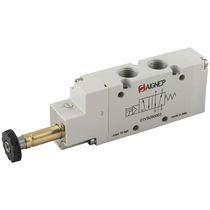 Distributeur pneumatique à tiroir / actionné par solénoïde / 5/3 voies / 5/2 voies