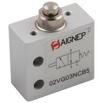 Distributeur pneumatique à clapet / 3/2 voies / en aluminium