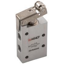 Distributeur pneumatique à clapet / à galet / 5/2 voies / 3/2 voies