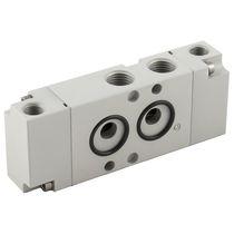 Distributeur pneumatique à tiroir / 5/2 voies / 4/2 voies / en aluminium
