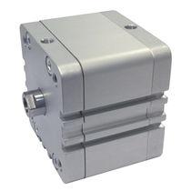 Vérin à piston magnétique / à double effet / compact / ISO