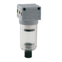 Filtre à air comprimé / à panier / semi-automatique / fileté