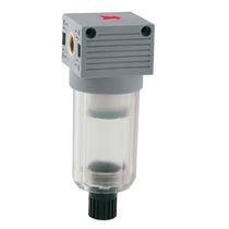 Filtre à air comprimé / à cartouche / semi-automatique / fileté