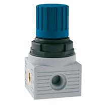 Régulateur de pression pour eau / mono-étagé / à membrane / en technopolymère